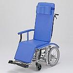 フルリクライニング車椅子 (介助式/スチール製/座幅410mm/チルト)