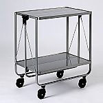 [Discontinued]Handy Side Cart Silver 62073