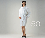Disposable Lab Coat For Men (Total Length About 106cm) 1 Piece and others
