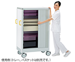 ALTIA Tray Cart (Aluminum Frame) 540 x 949 x 1412 With Shutter and others