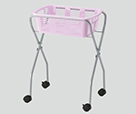 Clothes Basket Wagon/1 Rack White Without Caster and others