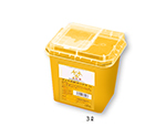 Disposable Needle Box Yellow 3L Box Sale (48 Pieces)