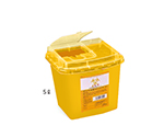 Disposable Needle Box Yellow 5L Box Sale (32 Pieces)