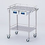 Storage Stainless Steel Cart 2 Stages Knob Blue 600 x 450 x 835mm and others