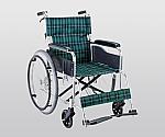 車椅子(アルミ製・背折れタイプ) 660×995×875 EW-50GN