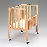 保育用ベッド[ワンタッチナーサリー] マット付き 56363