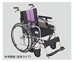 ノンバックブレーキ車椅子(アルミ製)