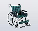 車椅子(アルミ製) ナイロン(緑チェック)
